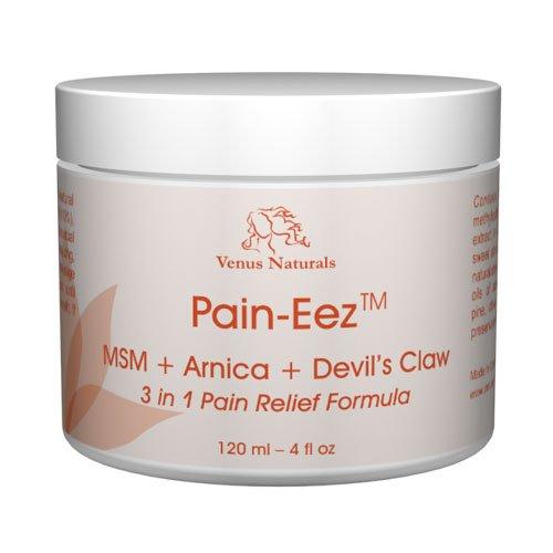 Pain-Eez Tous crème naturel soulagement de la douleur avec des HSH, arnica et griffe du diable, pot 4 oz