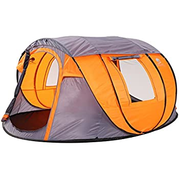 pop up tent size 106 x65 x43 with inner tent family tents sports outdoors. Black Bedroom Furniture Sets. Home Design Ideas