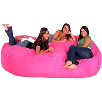 Amazon Com Cozy Sack 8 Feet Bean Bag Chair X Large Hot
