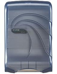 ** Large Capacity Ultrafold Multi/C-Fold Towel Dispenser, 11 3/4 x 6 1/4 x 18, Blue Coupon 2017