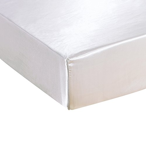 Yovoro Luxury Satin Fitted Bottom Sheet 12 Inch Deep