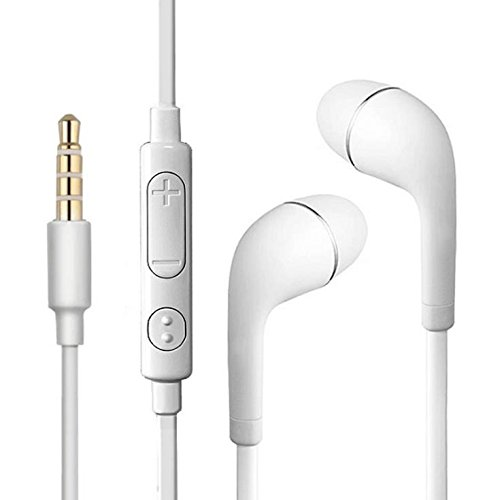 (Wholesale Earbuds for Samsung Stereo Handsfree Earphones Flat Wired Dual Earbuds Microphone for Samsung Galaxy S9 S8 S7 S6 S3 S4 S5 Mini S3 S2, S5 Note S4 Active/S5 Active)