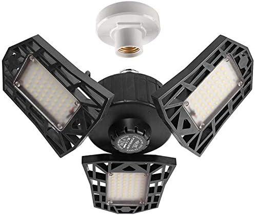 2-Pack Garage Lights 60W LED Garage Ligh