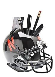 NCAA Nebraska Cornhuskers Helmet Desk Caddy, Black