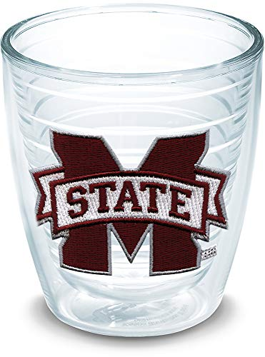 Tervis 1033325 Mississippi State Bulldogs Logo Tumbler with Emblem 12oz, ()