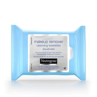 Neutrogena Makeup Remover Cleansing Towelettes & Wipes, (Pack of 3)