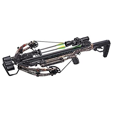CenterPoint Gladiator 405 Realtree Xtra Crossbow Package, Camo