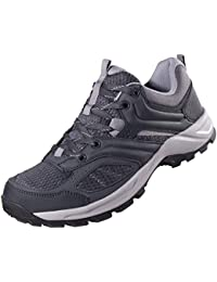 73c3cd1b52b4 Hiking Shoes for Men Women Tennis Trail Running Backpacking Walking Shoes  Comfortable Slip Resistant Sneakers