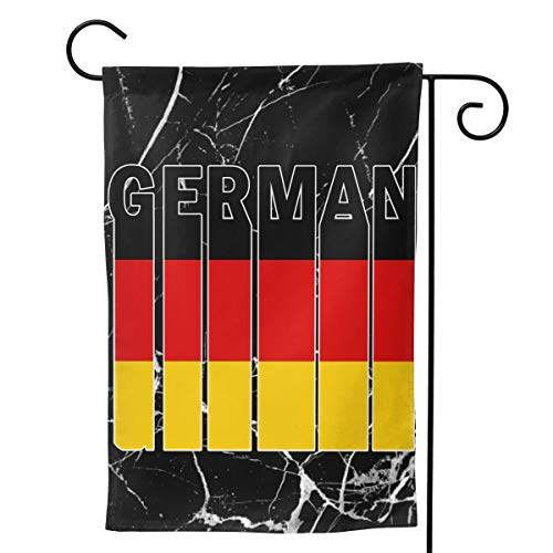 EWD8EQ German Flag Word Double-Sided Seasonal Garden Flags,Festive Outdoor Decor Yard Flags 28