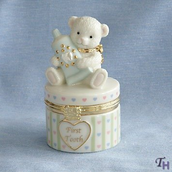 Baby's First Tooth Treasure Box by Lenox