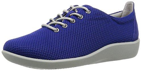 Clarks Berättande Sillian Tino Kvinnor Oss 8 Blå Mode Sneakers