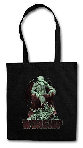 CTHULHU XIII Hipster Shopping Cotton Bag Cestas Bolsos Bolsas de la compra reutilizables