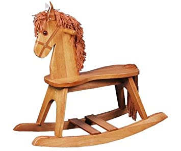 Stork Craft Rocking Horse, Oak