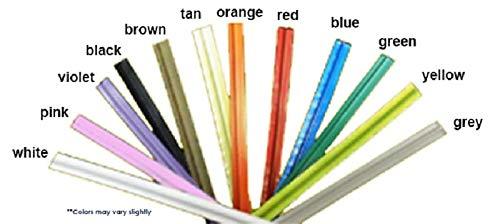 Spool of twist ties, 2000FT Long is 4800 to 6400 ties per roll, plastic/paper, 27 gauge, 5/32'' wide (1, RED)