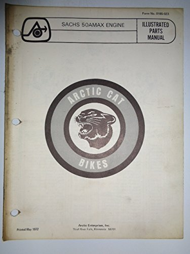 Arctic Cat Bike, Sachs 50AMAX Engine Parts List Book for sale  Delivered anywhere in USA