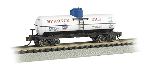 llon Single Dome Tank Car - Spartan Oil #8757 - N Scale ()