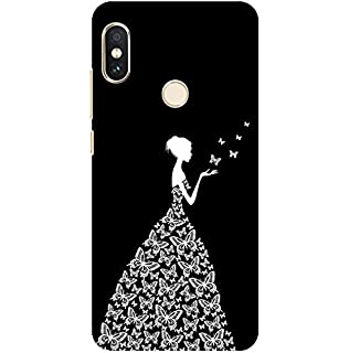 e5f2b3682 Pattern Creations pcbRN5P-1342 Woman Pattern Printed Back Cover for Redmi  Note 5 Pro (