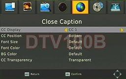 Premium ATSC Clear QAM TV Tuner With USB DVR Recording HDMI RCA A/V Outputs