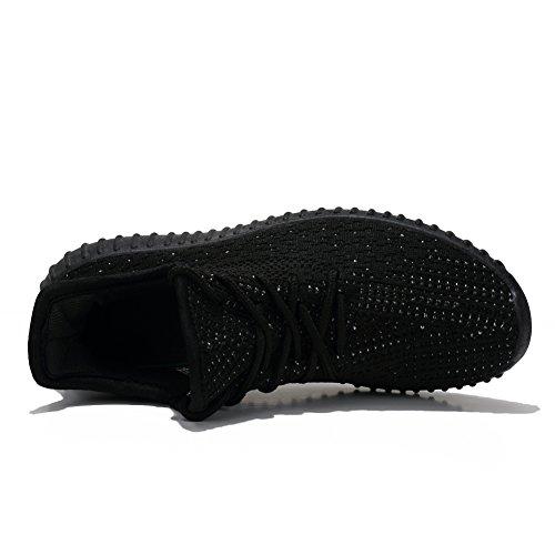 Athltique Up Mode Besoin Gymnase Sport 1 De Chaussures Unisexe Hommes Taille 1 Courir Pour Blanc Marcher New Entraneur Respirant Noir 5 Fereshte Sneakers Hpq56I5w