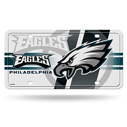 Rico Industries NFL Philadelphia Eagles Metal License Plate Tag ()