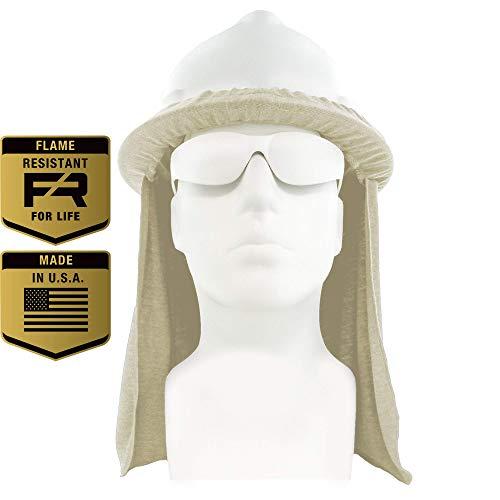 c49d214f2faf8 Flame Resistant FR Hard Hat Neck Shade