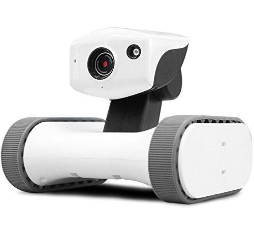 VARRAM スマートホームロボット アボット ライリー Riley-17 09520 B01LWXF28H  本体:白、タイヤ:グレー