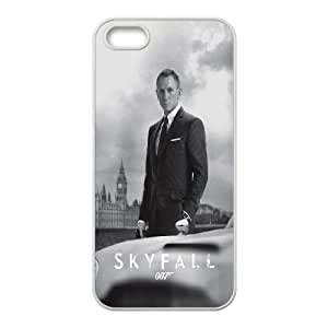 Skyfall Iphone 5 5S Cell Phone Case White JNCCCK08