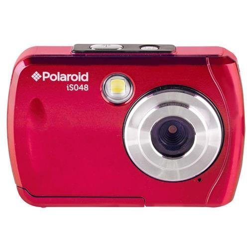 Polaroid iS048 Waterproof Digital Camera - Red by Polaroid