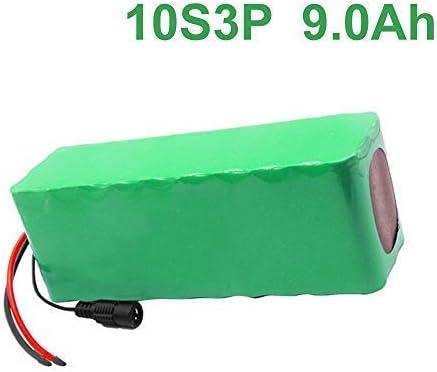36V 9Ah 10S3P Li-ion Paquete de baterías E-Bike Ebike bicicleta eléctrica