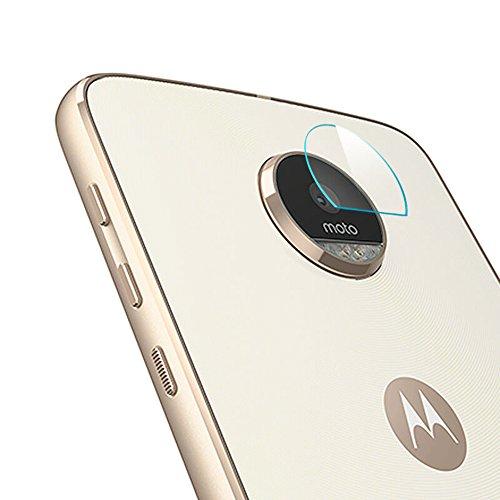 Forany Camera Lens Protector, High Definition Camera Lens Tempered Glass for Moto Z play Glass Lens(2 Pieces)