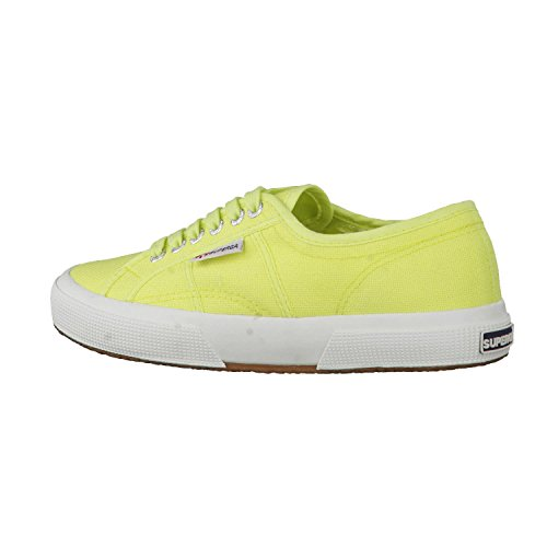 Adulto Lime Superga Verdesunny 2750 cotushirt S003i10Sneaker Unisex lcF1TKJ3