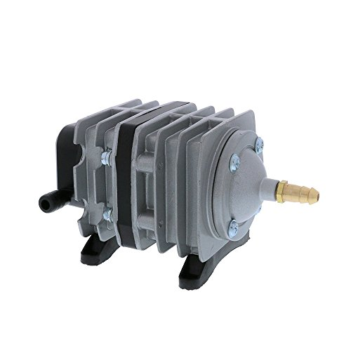 EcoPlus 793 GPH (3000 LPH, 18W) Commercial Air Pump w/ 6 Valves | Aquarium, Fish Tank, Fountain, Pond, Hydroponics by EcoPlus (Image #2)