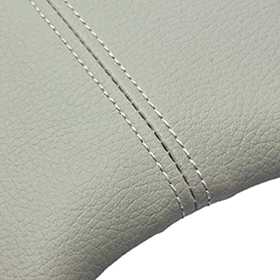MATCC Center Console Lid Armrest Cover for 2008 2009 2010 2011 2012 Honda Accord Synthetic Leather (Vinyl) Plastic Center Gray: Automotive