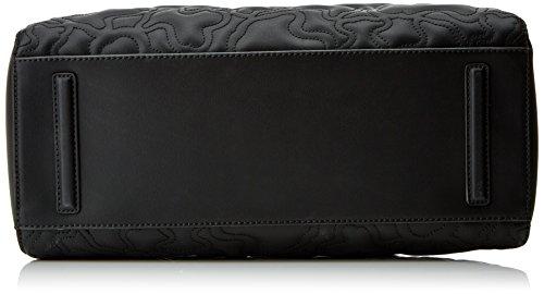 Tous Kaos Capitone - Borse Tote Donna, Nero (Black), 14.5x26x33.5 cm (W x H L)