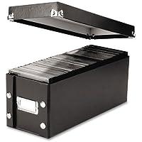Snap-N-Store, SNS01521, Media Storage Box, Holds 60 Slim/30 Standard Cases, 2/Pack, Sold As 1 Pack