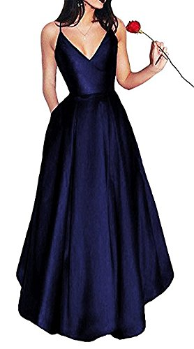 the Damen of A Beauty Marineblau Kleid Leader Linie xBqna5w