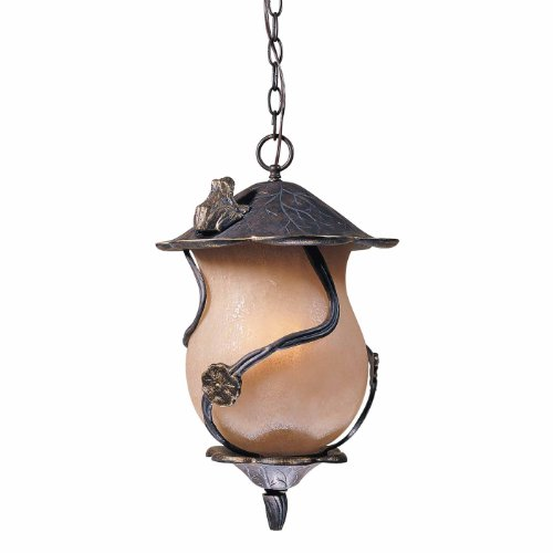Triarch 75137-12 4 Light Froggie Large Outdoor Pendant, - Triarch Pendant Bronze
