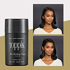 Toppik Hair Building Fibers, Black, 0.42...