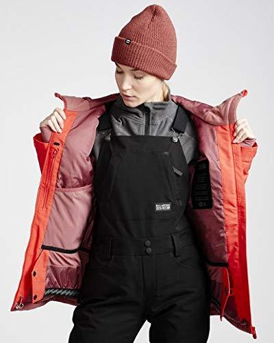 Billabong Women's Eclipse Snow Jacket Red Small
