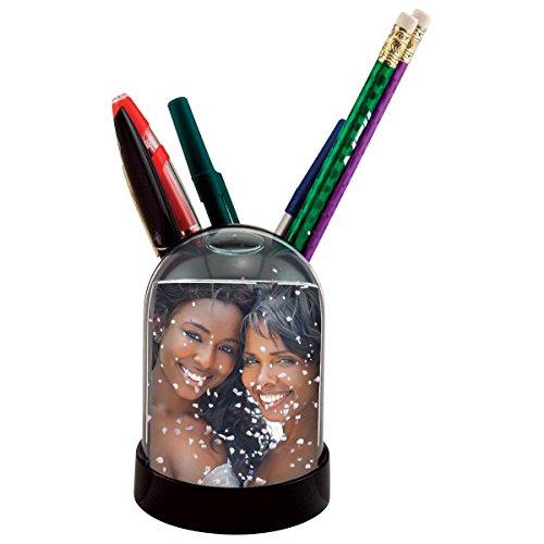 Neil Enterprises Pencil Cup Photo Snow Globe
