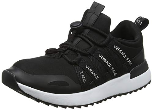 Versace Jeans Couture Women's Gymnastics Shoes, Black (Nero 899), 4.5 UK