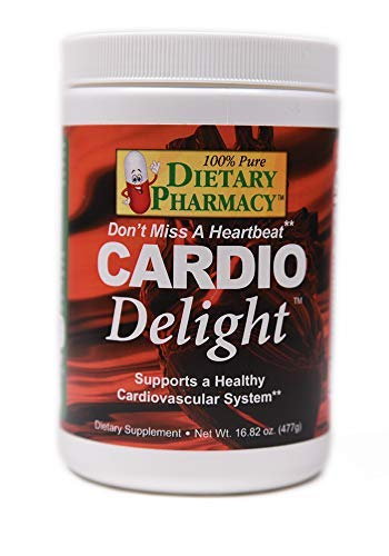 Cardio Delight - Heart Health - Professional Grade - Nitric-Oxide (16.82 Ounce Powder with Scoop) L Arginine 5000 mg - L Citrulline 1000 mg - Tart Cherry Flavor, 30 Day Supply
