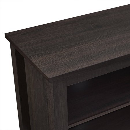 Wood TV Stand for TVs up to 70'' | High-Grade MDF and Durable Laminate (Espresso)