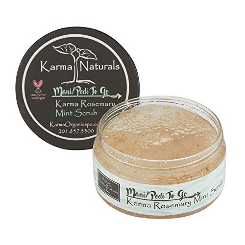 Karma Organic Rosemary Mint Scrub – Superfluous Moisturizing and reduces the extra oiliness