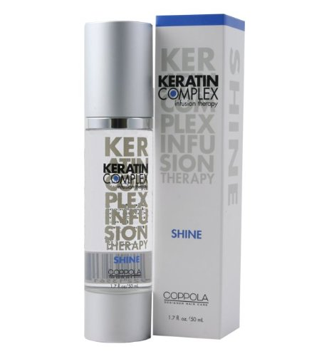 - Keratin Complex Infusion Therapy Shine Serum, 1.7 Ounce