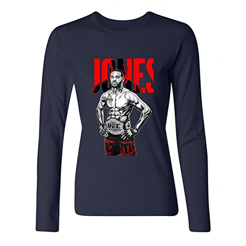 dotion-womens-ufc-197-jon-jones-long-sleeve-t-shirt-royal-blue
