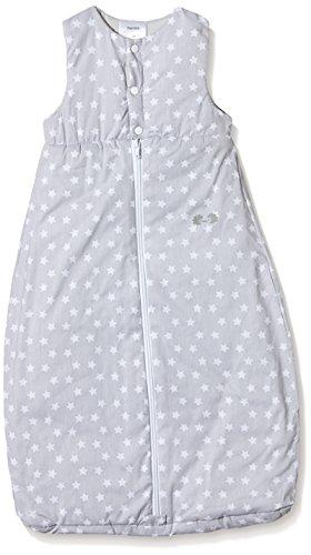 Twins Unisex Baby - Schlafsack mit Sternchen, All over print, Gr. 110 (Herstellergröße: 110 cm lang), Grau (blue Blush)