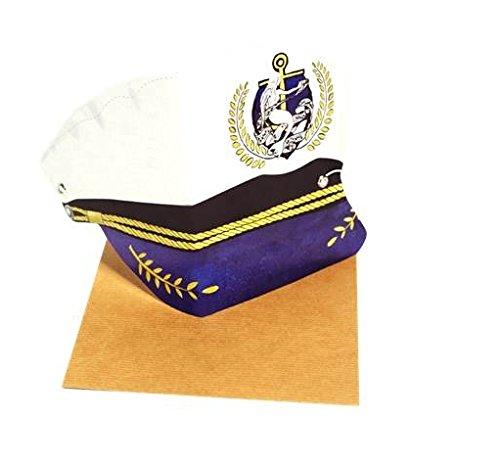 TMOD Sailor Hat/Greetings Card