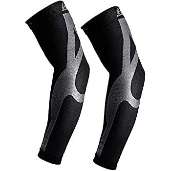 Compression Arm Sleeves with Enhance Graduated | 20-30mmHG | Improves and Maintains Blood Circulation Artritis Tendonitis| Relieves Pain & Supports Muscles - Joints | 1 Pair