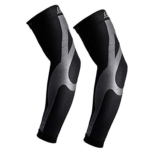 Compression Arm Sleeves with Enhance Graduated | 20-30mmHG | Improves and Maintains Blood Circulation Artritis Tendonitis| Relieves Pain & Supports Muscles - Joints | 1 Pair (Blood Circulation Medicine)